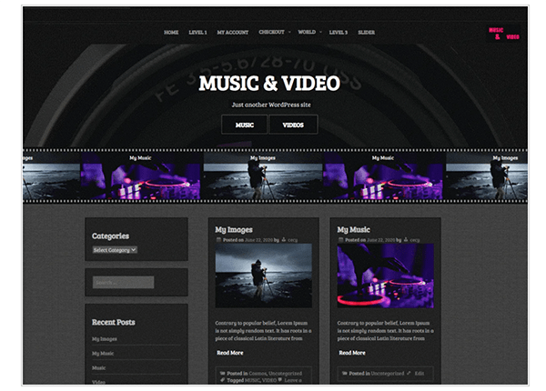 10 Best Free WordPress Video Themes To Engage Audiences