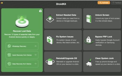 DroidKit – An All-in-One Solution for Android Problems